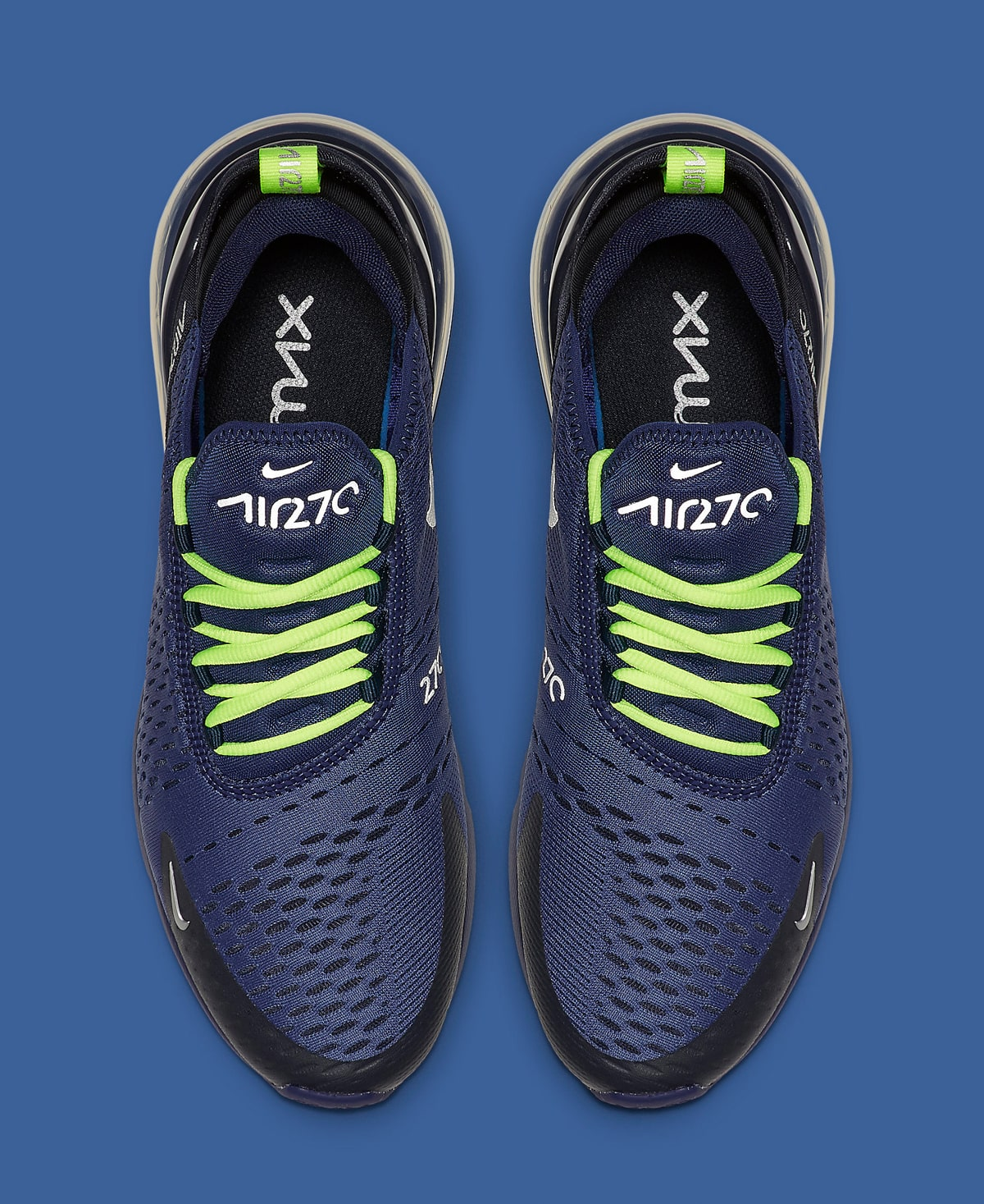 This Air Max 270 is Made for Seattle Seahawks Supporters