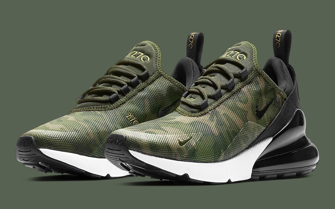 "the best competitive price quite nice Available Now // Nike Air Max 270 ""Camo"" - HOUSE OF HEAT ..."