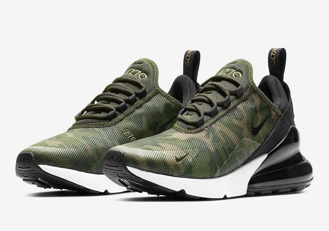 Available Now Nike Air Max 270 Camo House Of Heat Sneaker