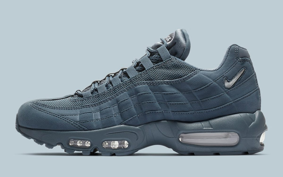 finest selection a8cb8 5ee5e All-Blue Hues Hit the Air Max 95 SC - HOUSE OF HEAT ...
