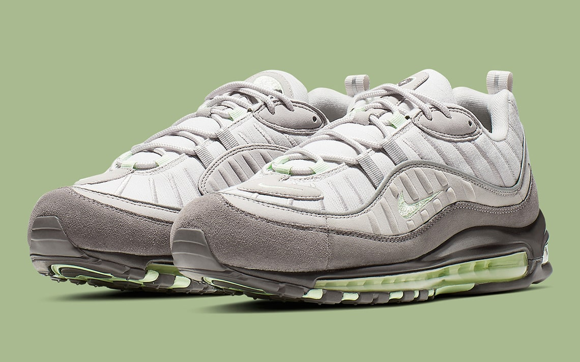 The Air Max 98 Looks Great in Grey Gradient!