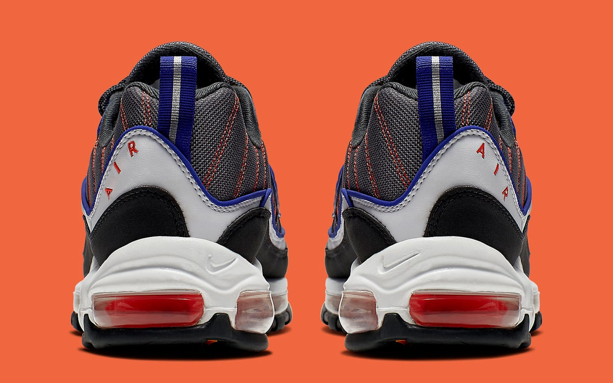 lowest price 8de19 64948 Available Now // The Air Max 98 Kicks On in Knicks Colors ...