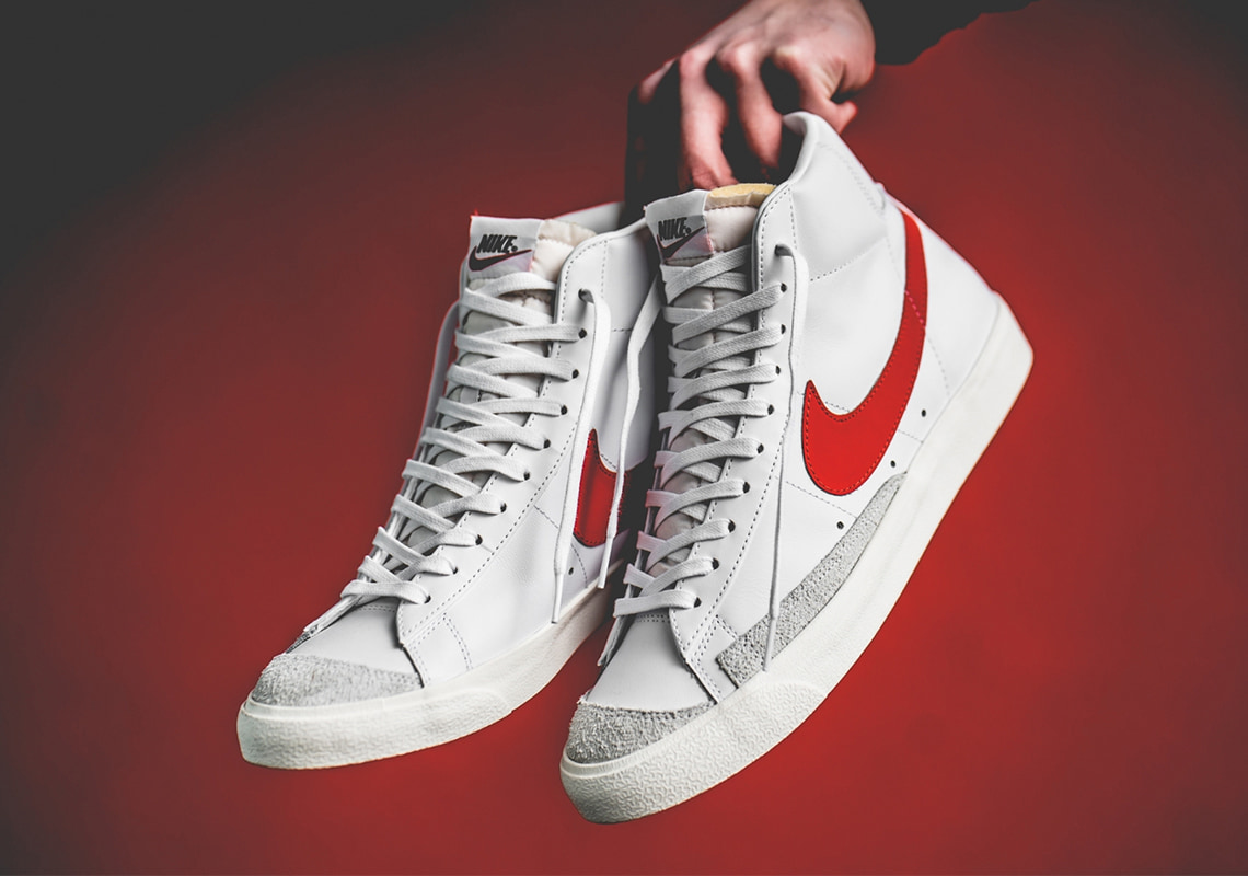 "The Nike Blazer Mid Vintage '77 ""Habanero Red"" Restocks In Europe on Feb. 14th"