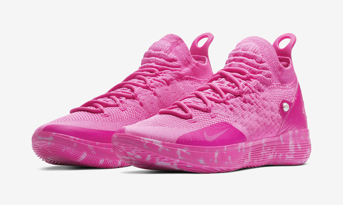 """The Nike KD 11 """"Aunt Pearl"""" Honors 59"""