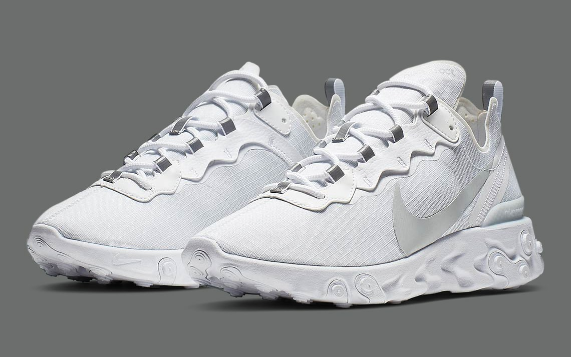 "The React Element 55 Arrives in Perfect ""Pure Platinum"""