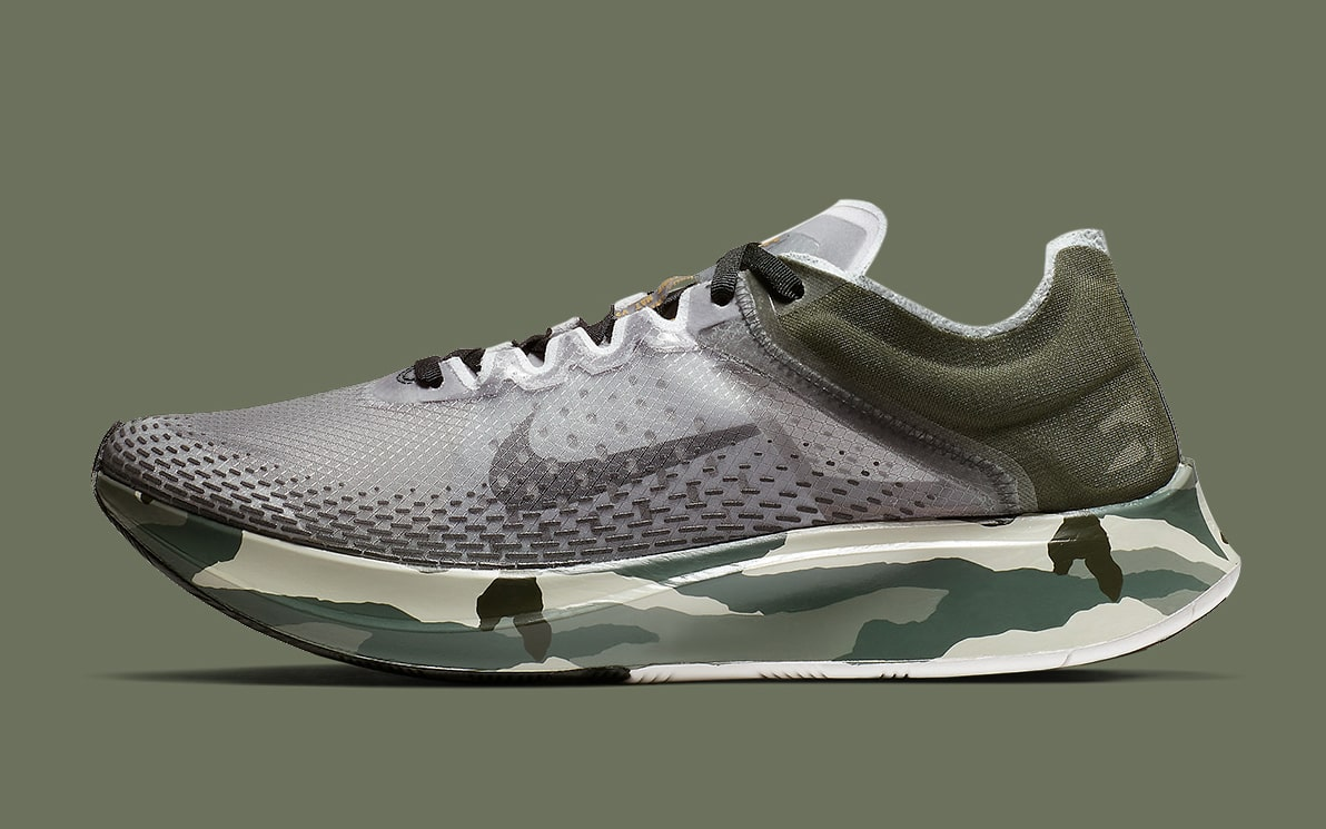 The Nike Zoom Fly SP Comes Up in Camo