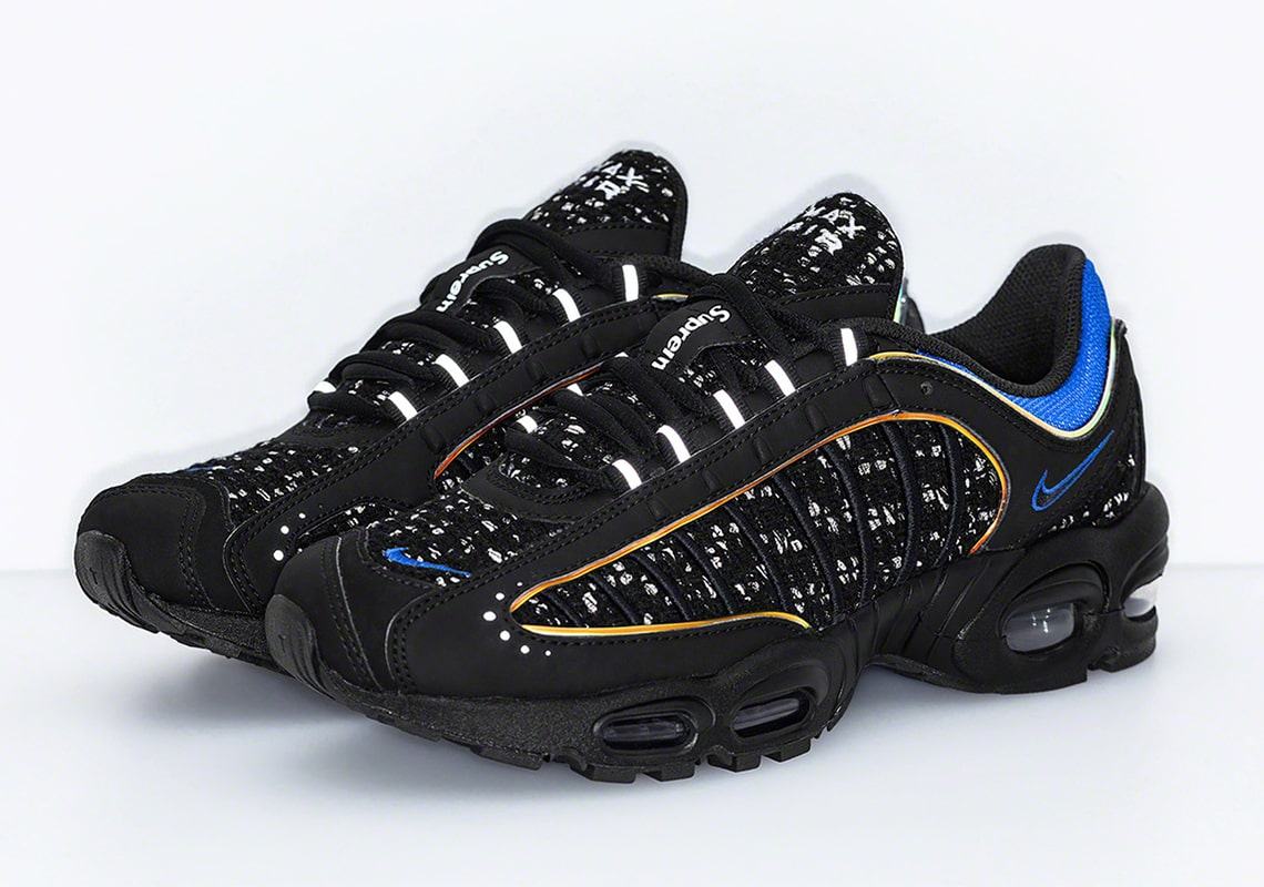 a33fa6446e Where to Buy the Supreme x Nike Air Max Tailwind IV Collaborations ...