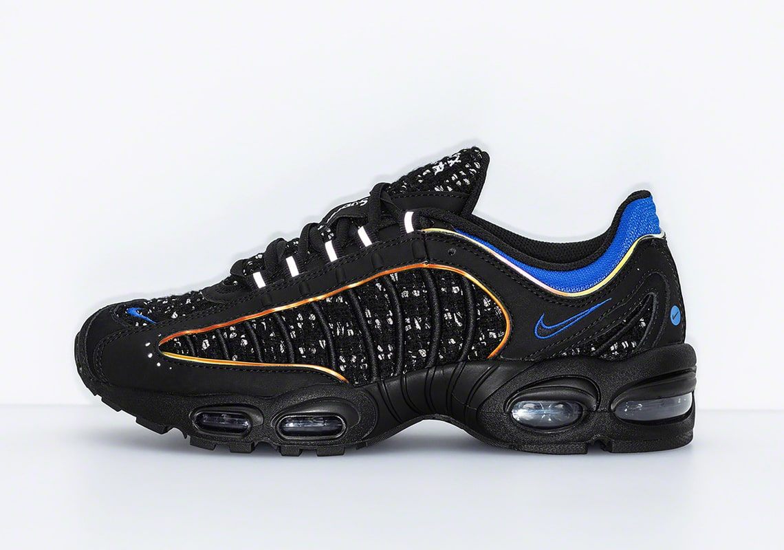 5a19349e3e Where to Buy the Supreme x Nike Air Max Tailwind IV Collaborations ...