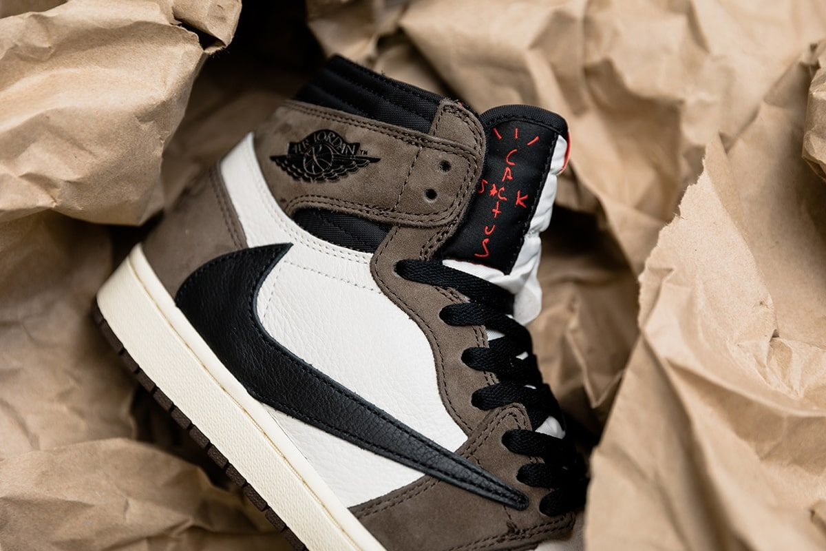 8e5e772eeebb4 The Release of Travis Scott s Air Jordan 1 Collaboration Releases on May 3rd