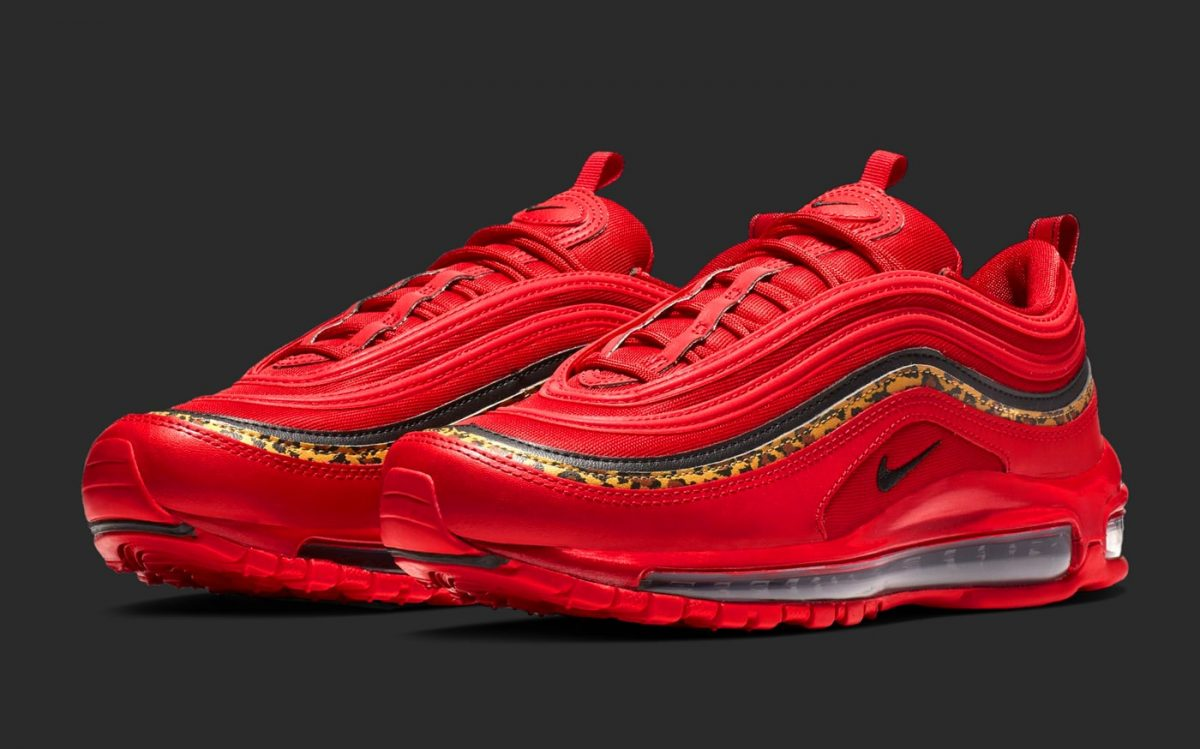 "The ""Red Leopard"" Air Max 97s Just Restocked!"