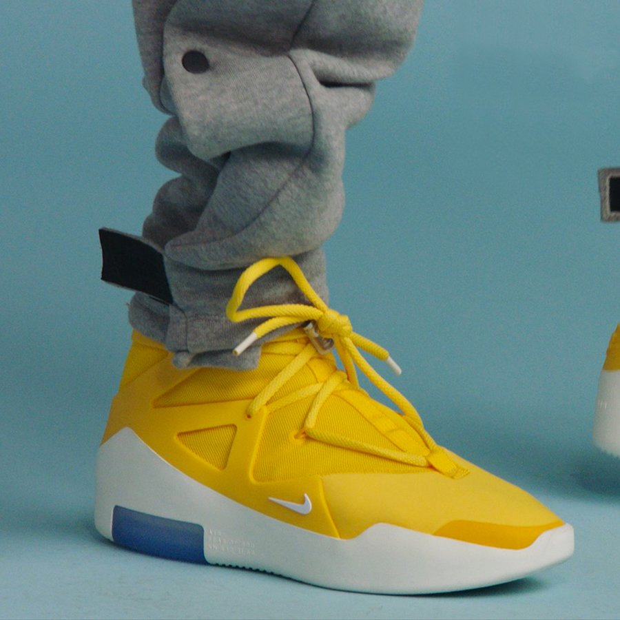 448dad32f Jerry Lorenzo s Yellow Air Fear of God 1s Rumored to Release - HOUSE ...