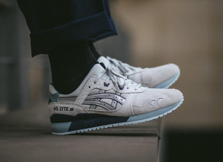 "Available Now // ASICS Gel Lyte III ""Glacier Grey"""