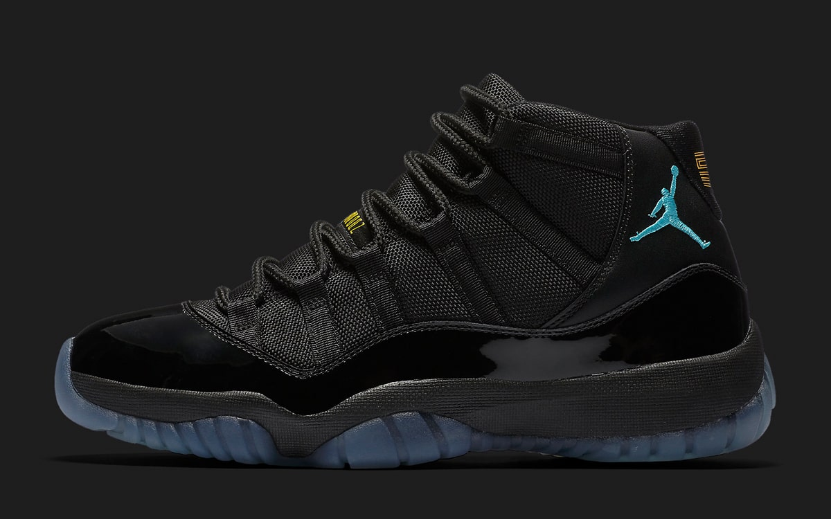 "10d202f7a06 Air Jordan 11 ""Gamma"". Style Code: 378037-006. Color: Black/Gamma Blue-Black-Varsity  Maize Release Date: TBA"