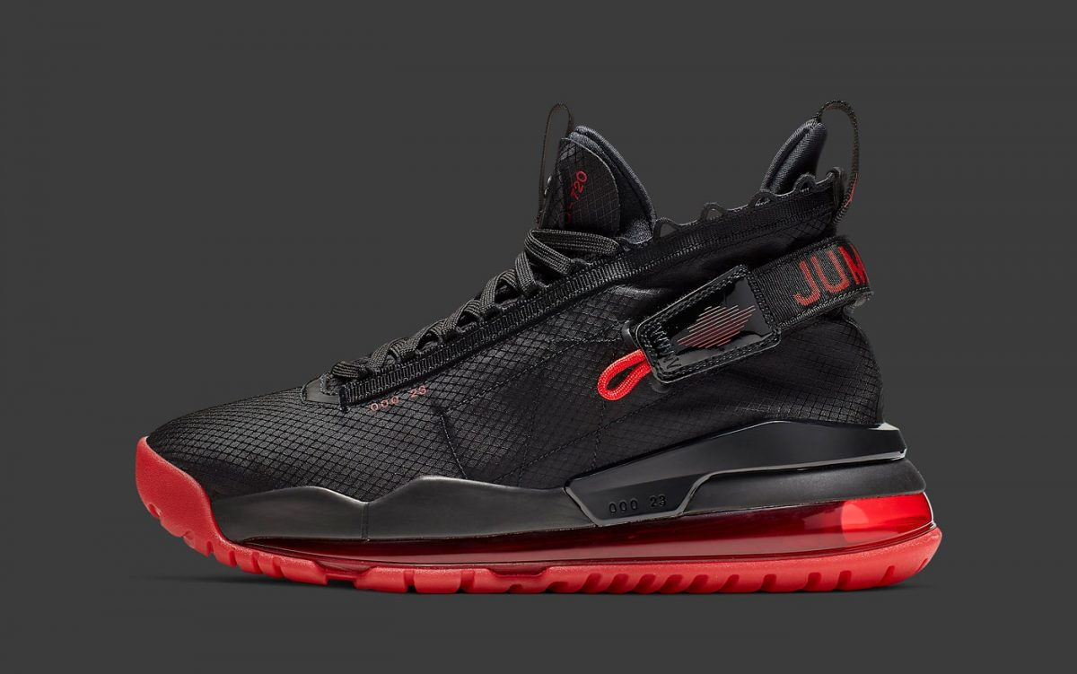 "The All-New Jordan Protro Max Arrives in the Iconic ""Bred"" Colorway"