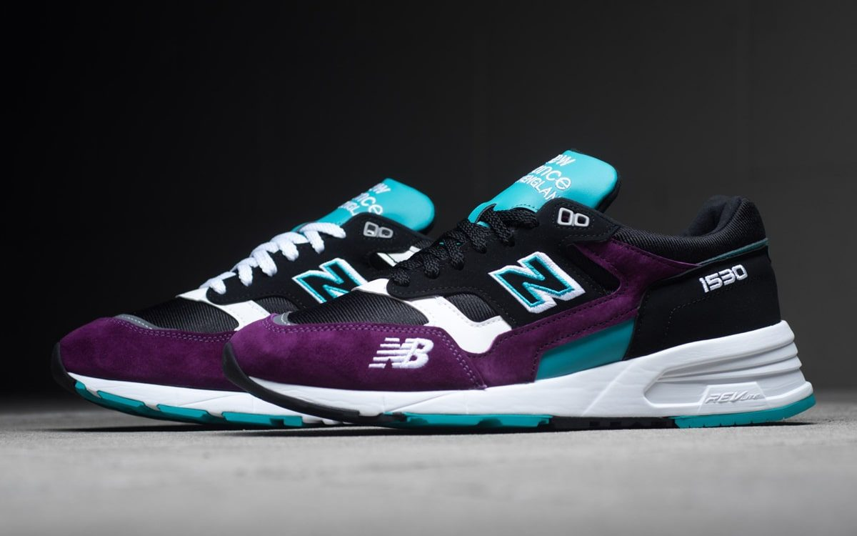 New Balance's Made In England 1530 Arrives in Poppin' Purple And Teal
