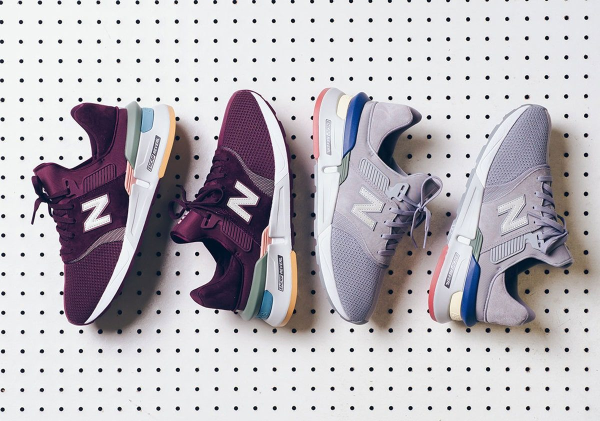 These Two New Balance 997s Rep NB's Chunky ENCAP Reveal Sole