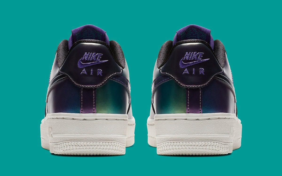 A New Hornets-Themed Air Force 1 Low Arrives with an Iridescent Finish