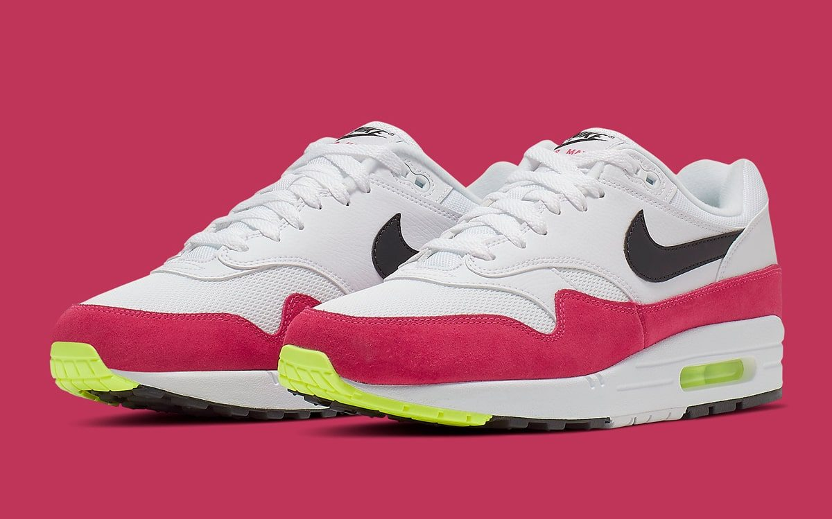"premium selection 2200c 7bd86 The Air Max 1 ""Rush Pink"" Arrives at Stateside Retailers Soon"