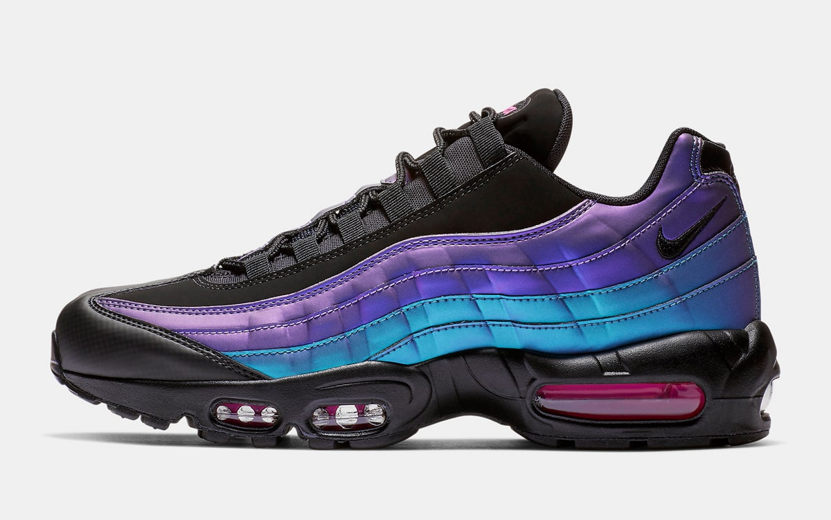 new product 952e7 7e2c5 Nike is Throwing it Back to the Future with this Iridescent Air Max ...