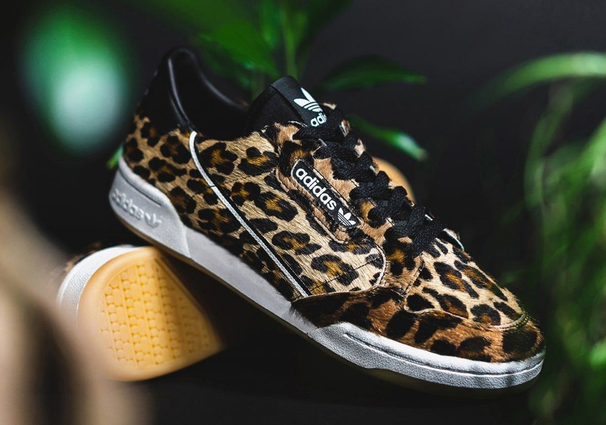 The adidas Continental 80 Takes a Walk on the Wild Side
