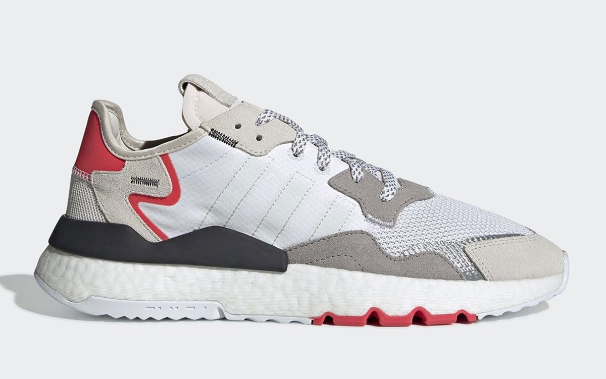 The Next adidas Nite Jogger is Made in Monochrome and Red