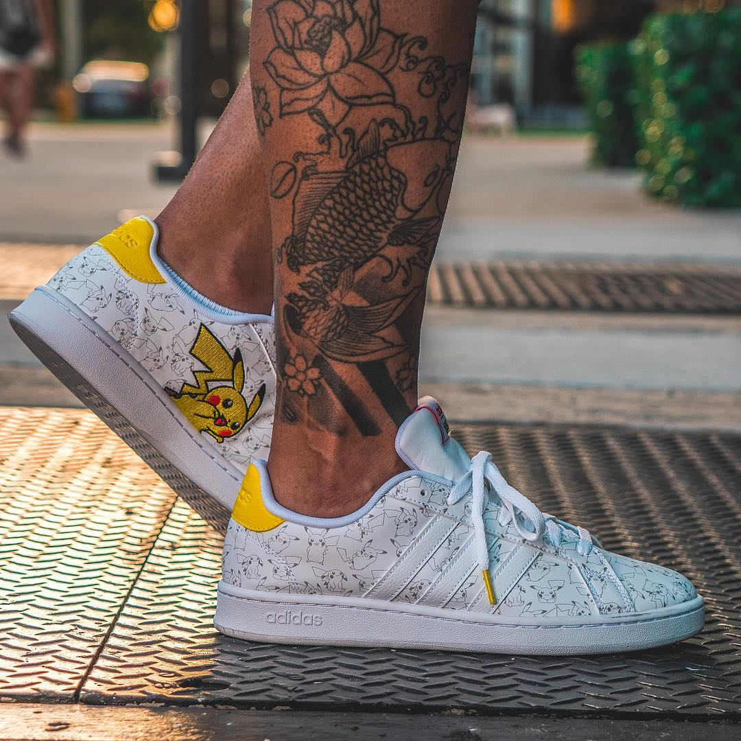Detailed Looks at the adidas x Pokemon Campus Collaboration