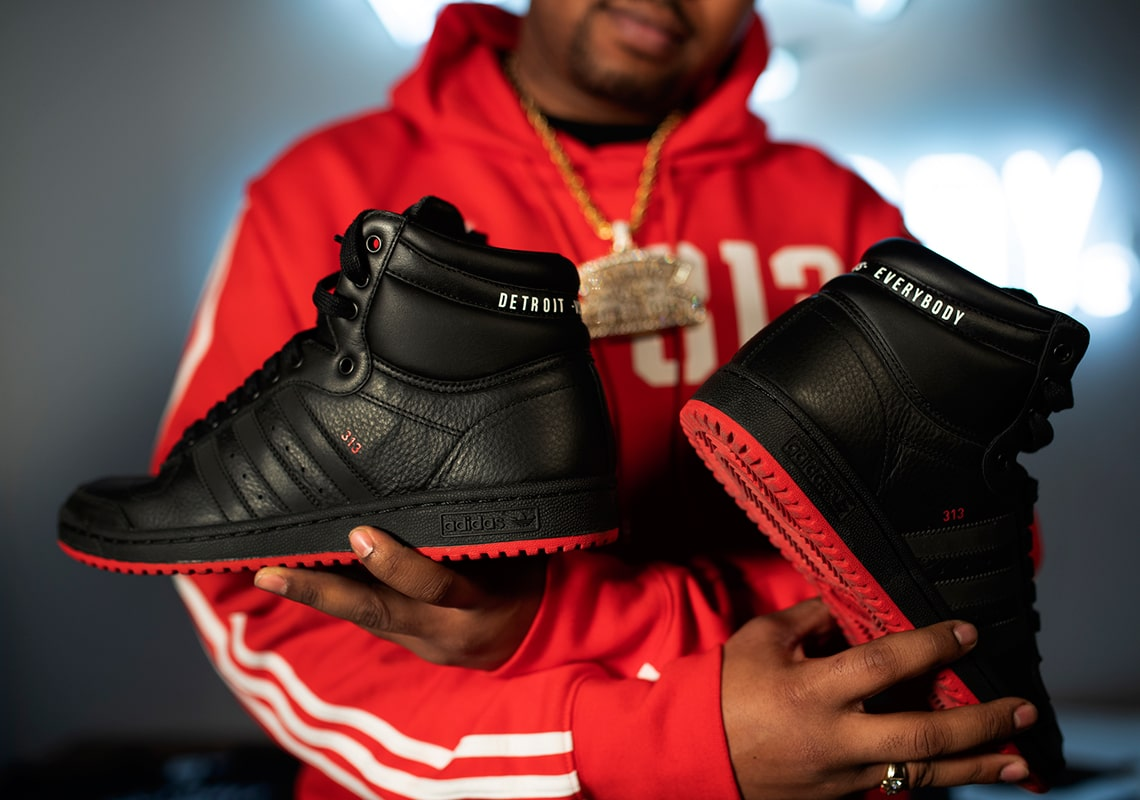 Detroit Vs. Everybody to Release Special Edition 313 Day adidas Top Ten