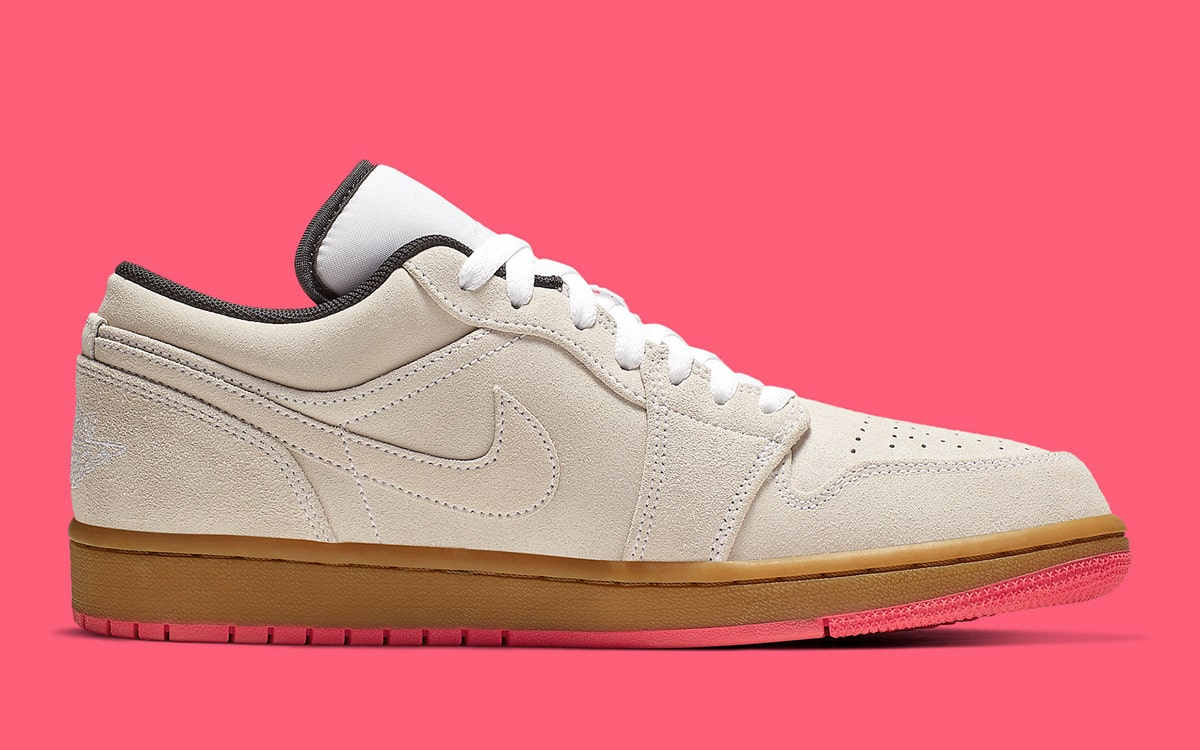 presumir Goma de dinero Fuera de servicio  The Air Jordan 1 Low Arrives for Summer with Bright Pinks and Beige Suedes  - HOUSE OF HEAT | Sneaker News, Release Dates and Features