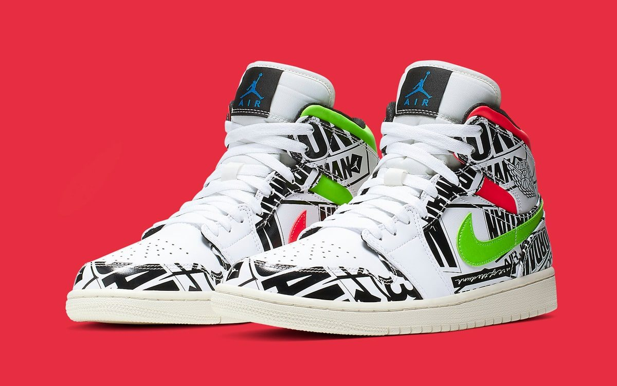 cheap for discount 88158 983dc The Jordan 1 Mid Gets Over-Branded