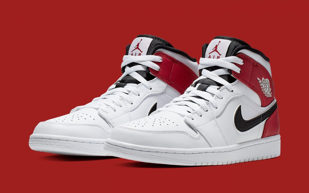 Available Now // This Jordan 1 Mid Gives the Bulls Colors New Blocking