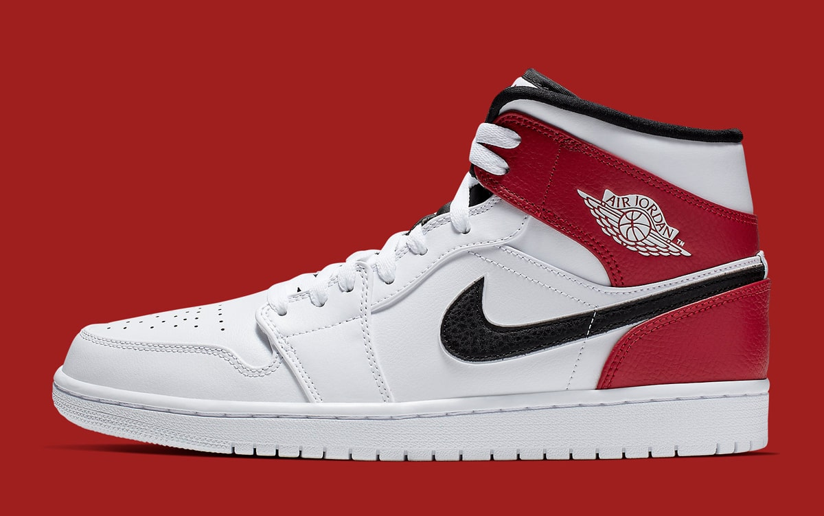 This Jordan 1 Mid Gives the Bulls Colors New Blocking - HOUSE OF ... 09ffdb890