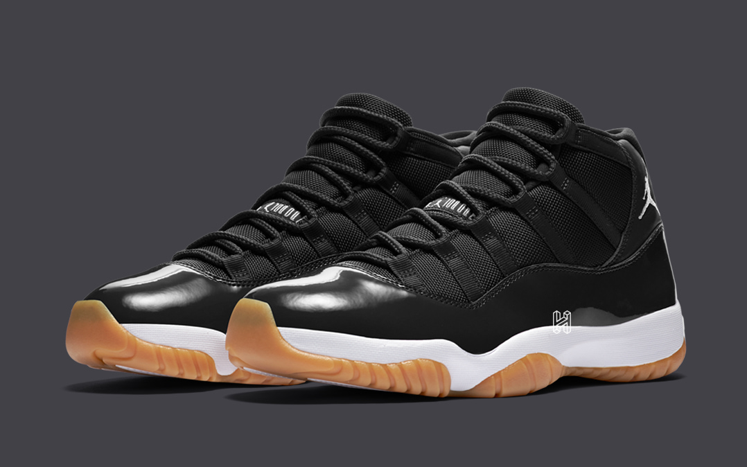 "Concept Lab // Air Jordan 11 ""Black/Gum"""