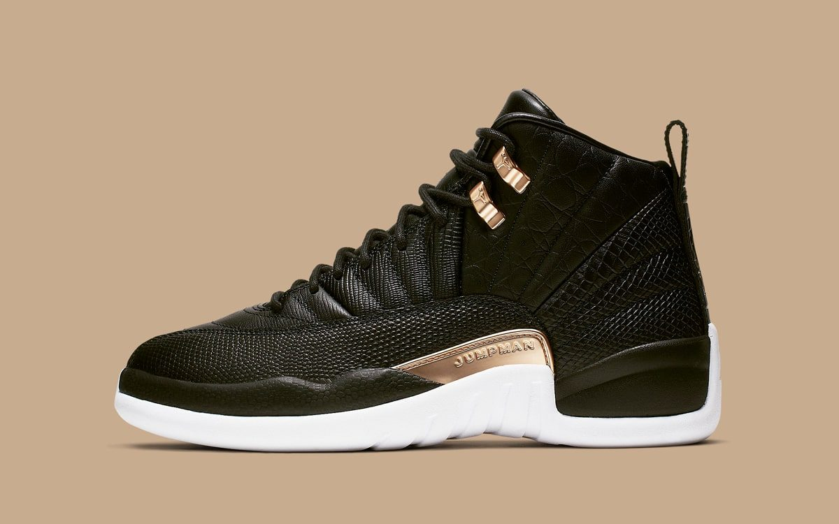 "Detailed Looks at the Ultra-Premium ""Reptile"" WMNS Air Jordan 12"