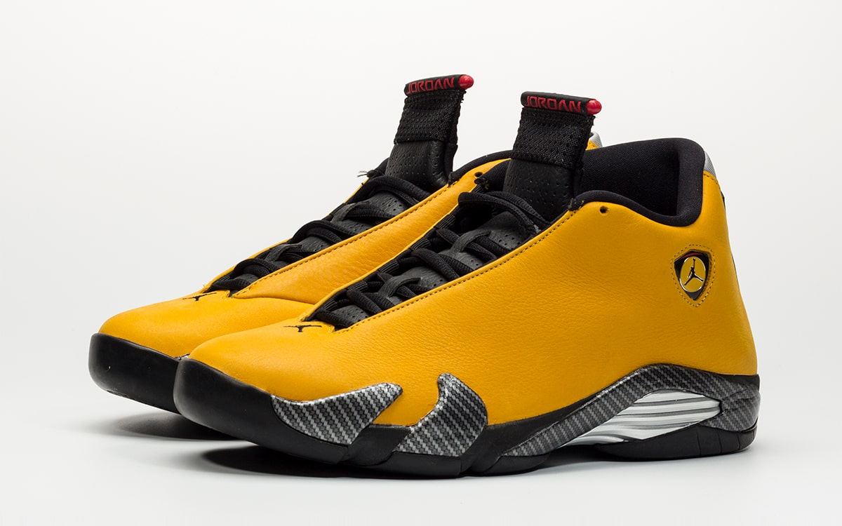 "new arrival 5b2ca 132e4 Images via  HanzuYing. First Looks   . Where to Buy the Air Jordan 14 SE  ""Yellow Ferrari"" Release Date"