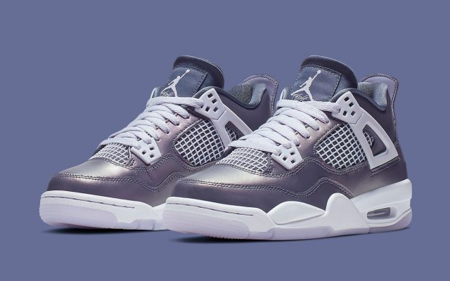 "6f933ecfe71892 Official Looks at the ""Monsoon Blue"" Air Jordan 4 GS"