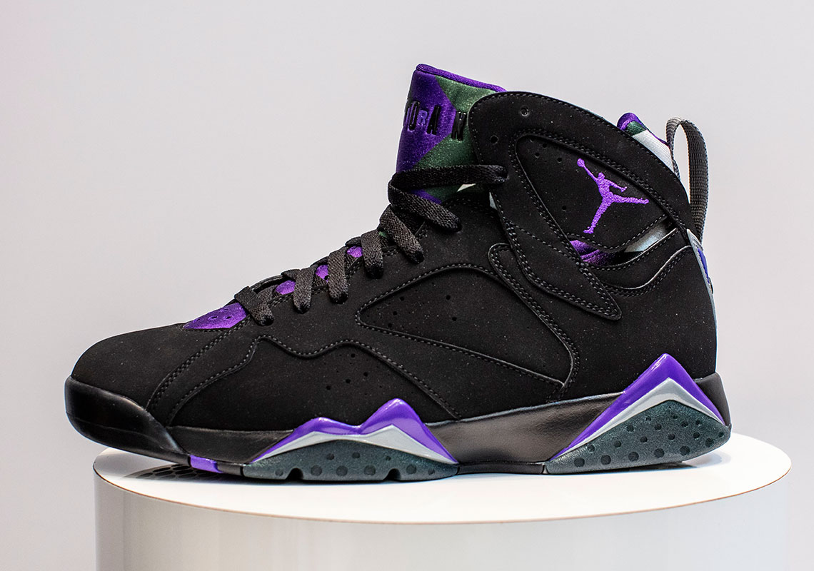 "Where to Buy Air Jordan 7 ""Ray Allen"" Release Date"