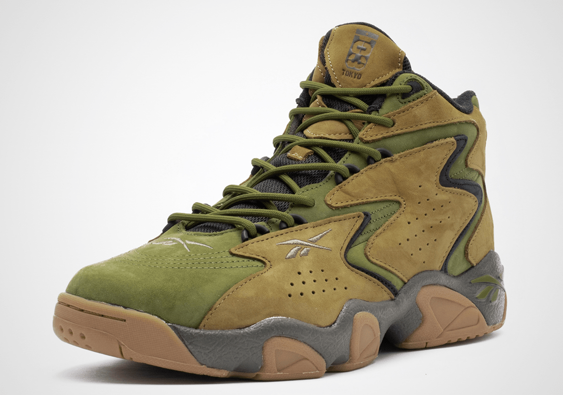 atmos and Reebok Matchup for a Military-Themed Mobius Collab