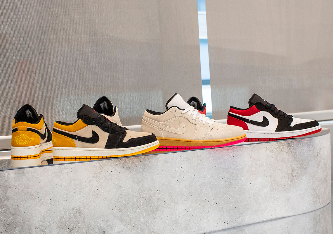 Jordan Brand Preview their Collection of Jordan 1 Lows for Summer