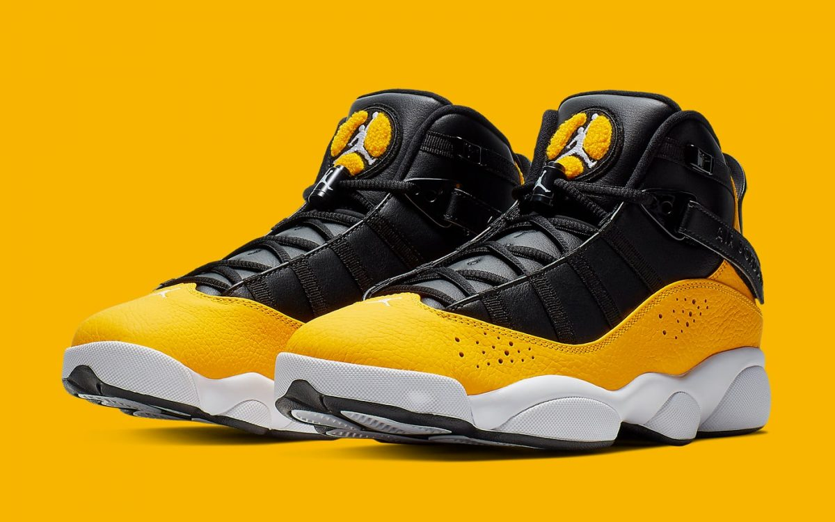 Available Now // The Jordan 6 Rings Tackles the Fan-Favorite Taxi Colorway