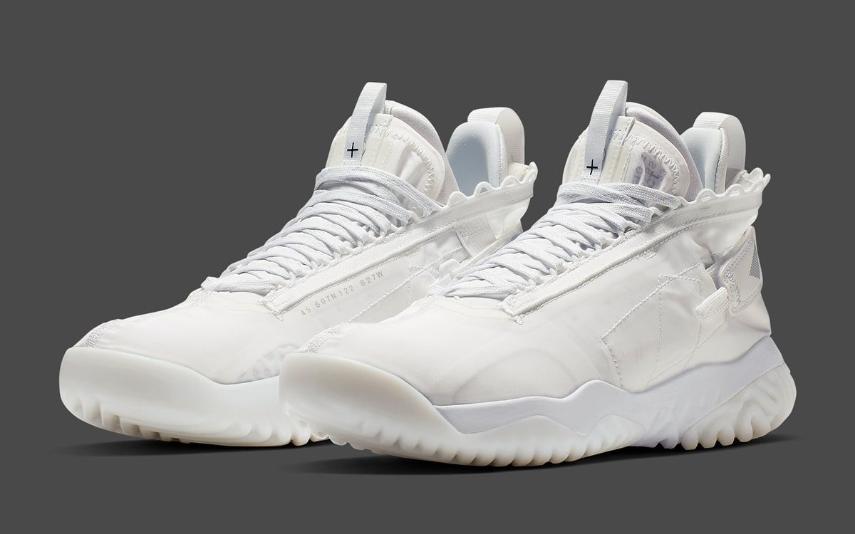 "official photos 90dd4 dc2c8 The Jordan Protro React Surfaces in ""Triple White"""