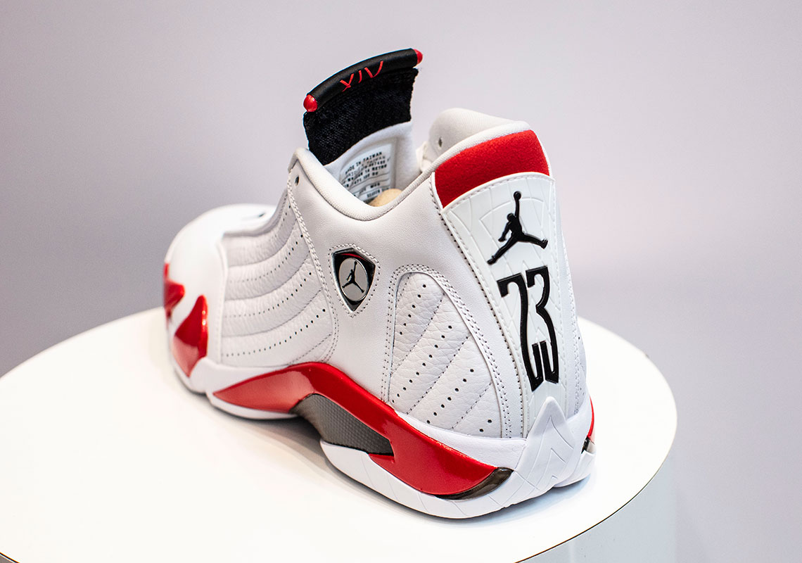 Where to Buy the Air Jordan 14 Candy Cane Rip Hamilton 487471-100 Release Date