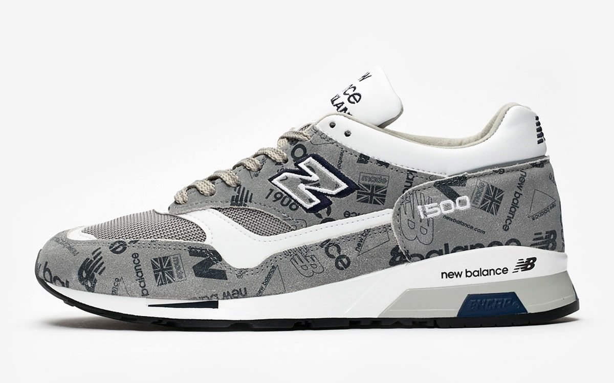 NB to Celebrate the 1500's 30th Anniversary with All-Over Logo Prints