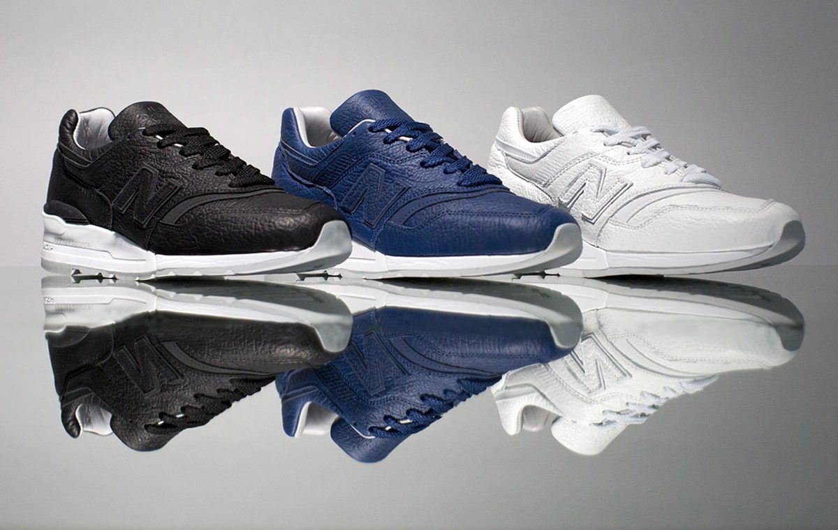 Available Now // New Balance 997 in Tumbled Bison Leathers
