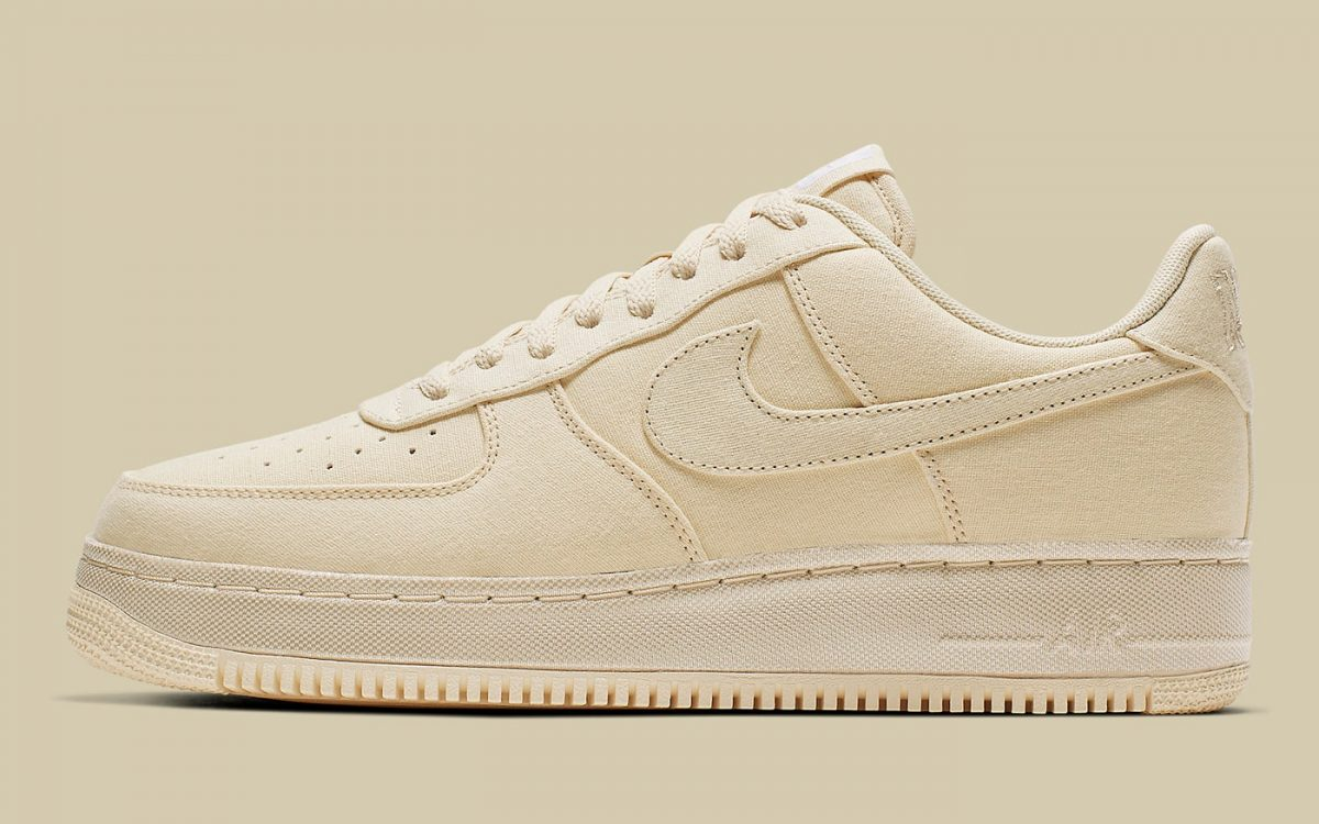 This Air Force 1 Comes Coated in Muslin Canvas