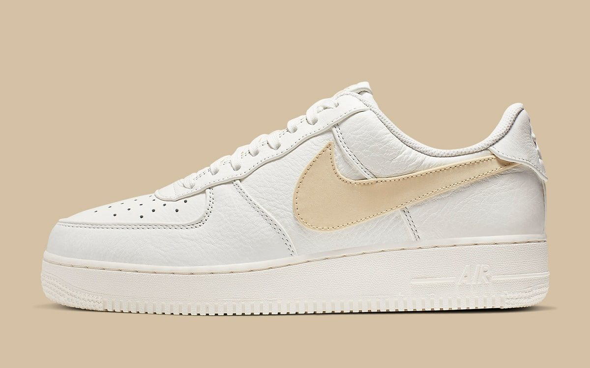 Available Now // Big Swooshed Air Force 1 in Sail and Pale Vanilla