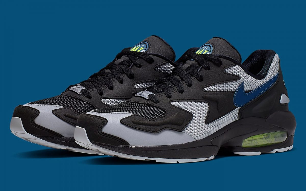 """The Nike Air Max 2 Light """"Thunderstorm"""" is Landing Soon"""