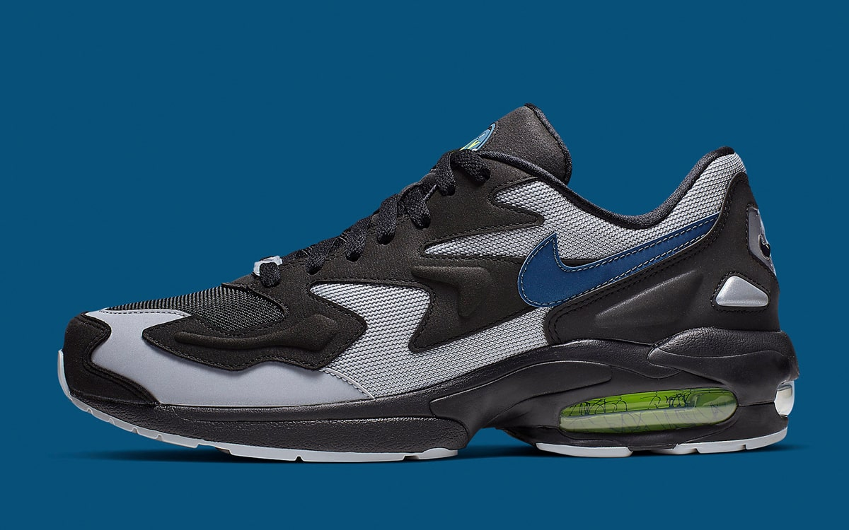 """low priced 5d340 f475c The Nike Air Max 2 Light """"Thunderstorm"""" is Landing Soon - HOUSE OF ..."""