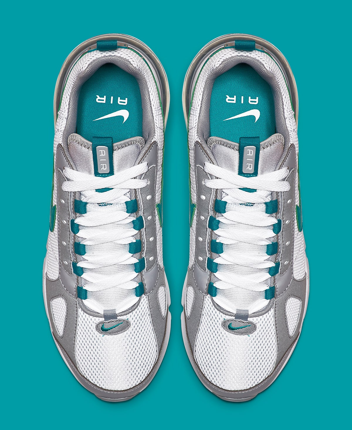 pirámide vestíbulo Víspera de Todos los Santos  The Air Max 270 Futura Takes on a Teal Colorway for Spring - HOUSE OF HEAT  | Sneaker News, Release Dates and Features