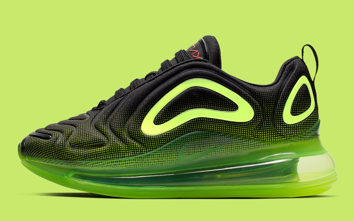 These Black and Volt Air Max 720s for