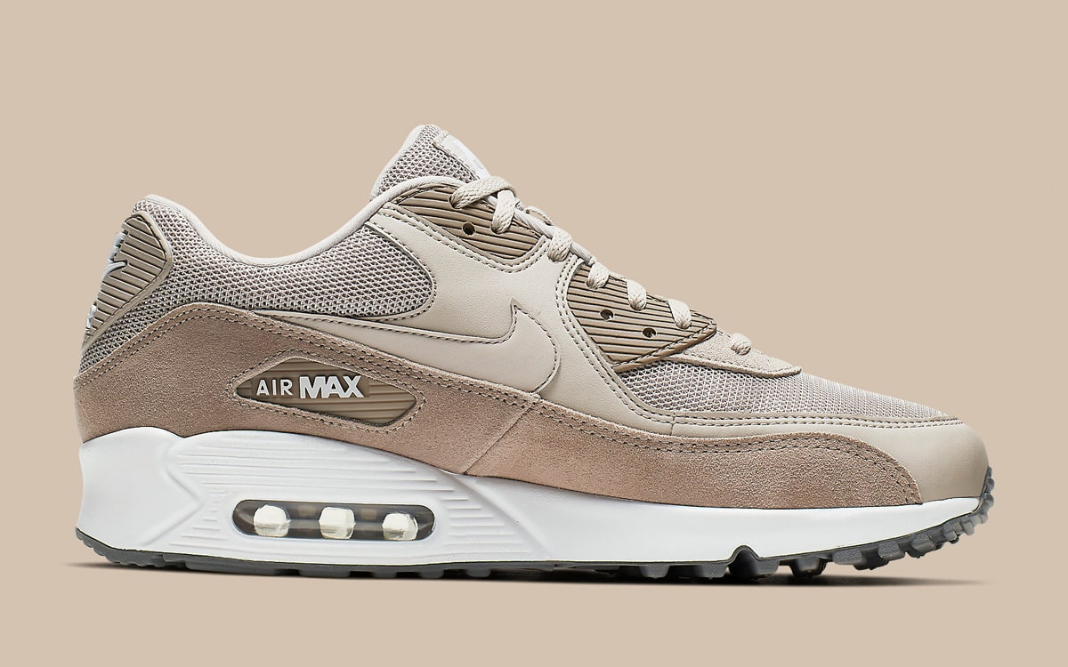 "wholesale dealer 82260 6da53 The Nike Air Max 90 ""Sepia Stone"" Arrives with Luxe Plush Suede ..."